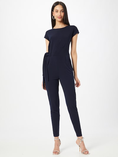 Cartoon Jumpsuit in de kleur Donkerblauw, Modelweergave