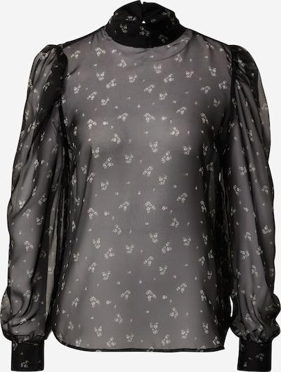 minimum Bluse 'Neliane' in beige / schwarz / transparent / weiß, Produktansicht