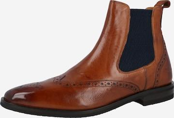 MELVIN & HAMILTON Chelsea Boots 'Alex' in Brown