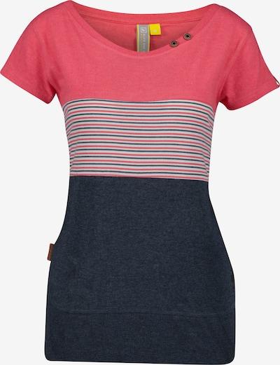 Alife and Kickin Shirt in rot / schwarz, Produktansicht