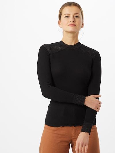 rosemunde Koszulka w kolorze czarnym: Widok z przodu