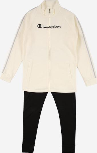 Rinkinys 'Full Zip Suit' iš Champion Authentic Athletic Apparel, spalva – juoda / balkšva, Prekių apžvalga