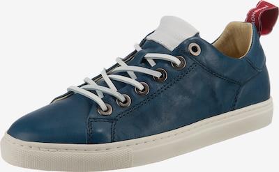 Grünbein Eva Sneakers Low in blue denim, Produktansicht