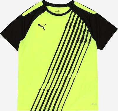 PUMA T-Shirt fonctionnel 'TeamLIGA' en jaune fluo / noir, Vue avec produit