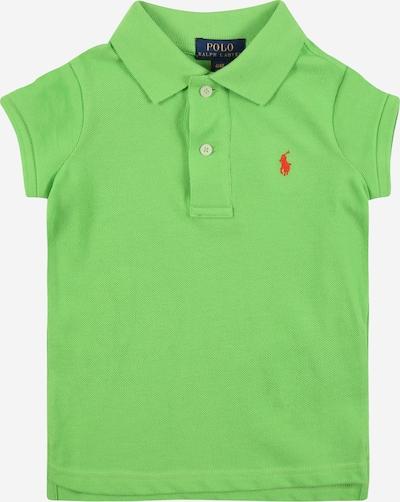 POLO RALPH LAUREN T-Shirt en vert clair / rouge orangé, Vue avec produit