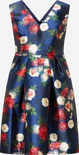 Chi Chi Curve Kokteilové šaty - námornícka modrá / karmínovo červená, Produkt