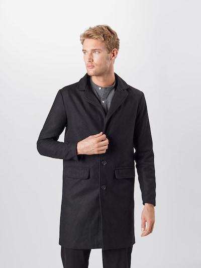 BRAVE SOUL Prehoden plašč 'AUGUSTINE' | črna barva, Prikaz modela