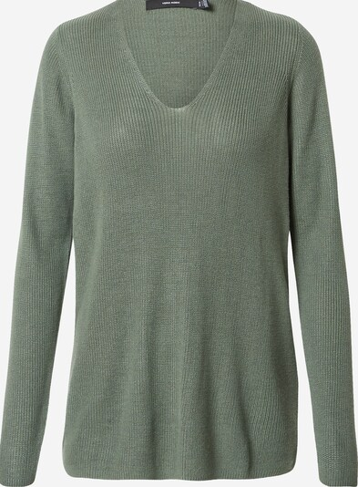 VERO MODA Sweater in Dark green, Item view