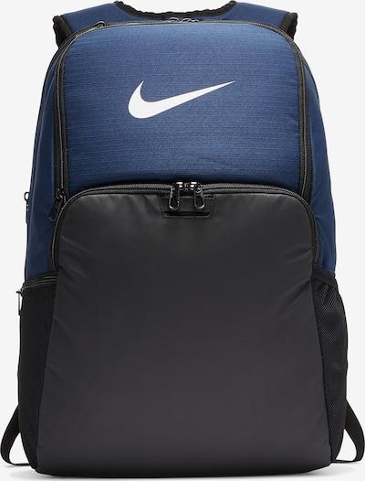 NIKE Rucksack in blau / schwarz, Produktansicht