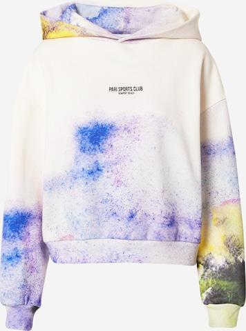 PARISweater majica 'SPORTS CLUB' - bijela boja