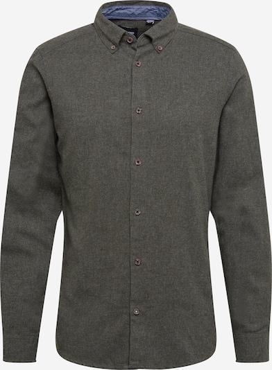 Only & Sons Hemd 'EDIN' in dunkelgrün, Produktansicht