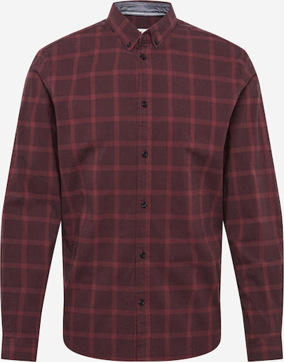 TOM TAILOR Hemd in rot / dunkelrot, Produktansicht