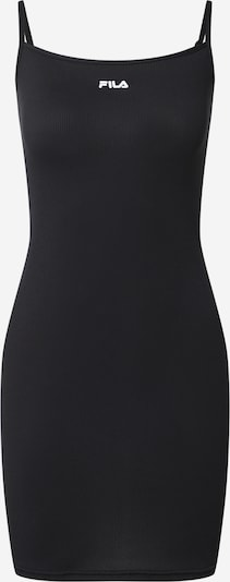 FILA Obleka 'AMBERLY'   črna / bela barva: Frontalni pogled
