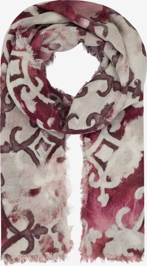APART Schal mit Ornamenten mit Ornamenten in rot, Produktansicht