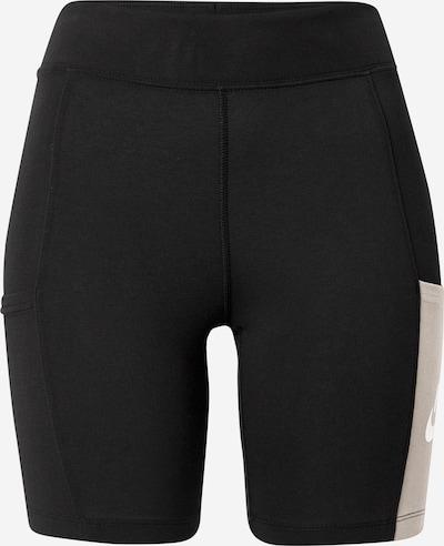 Nike Sportswear Leggings 'Heritage' en nude / noir / blanc, Vue avec produit