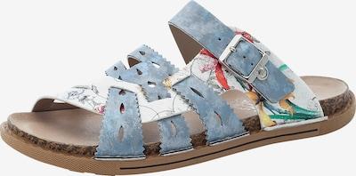 RIEKER Pantofle - modrá / mix barev, Produkt