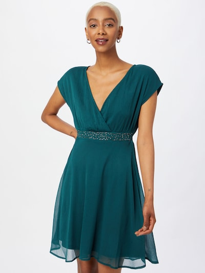 ABOUT YOU Koktel haljina 'Ashley' u smaragdno zelena, Prikaz modela