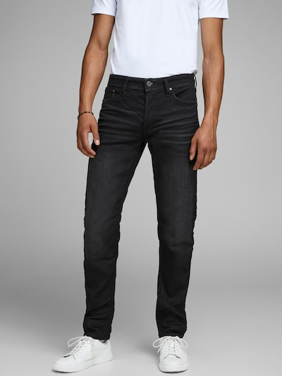 JACK & JONES Jeans 'Mike' i sort, Modelvisning