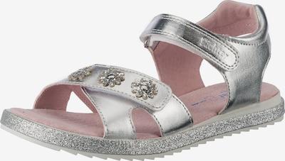 RICHTER Sandale in silber, Produktansicht