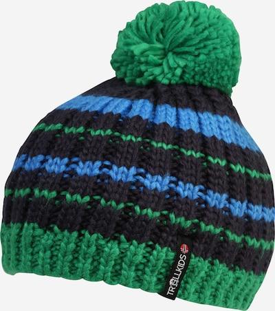 TROLLKIDS Sportovní čepice 'Hafjell' - marine modrá / světlemodrá / trávově zelená, Produkt