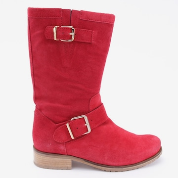 SLY 010 Dress Boots in 39 in Red