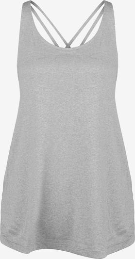 Sportiniai marškinėliai be rankovių iš ADIDAS PERFORMANCE , spalva - margai pilka, Prekių apžvalga