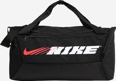 NIKE Športna torba 'Brasilia' | korala / črna / bela barva, Prikaz izdelka