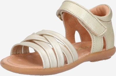 BISGAARD Sandale 'Cat' in platin, Produktansicht