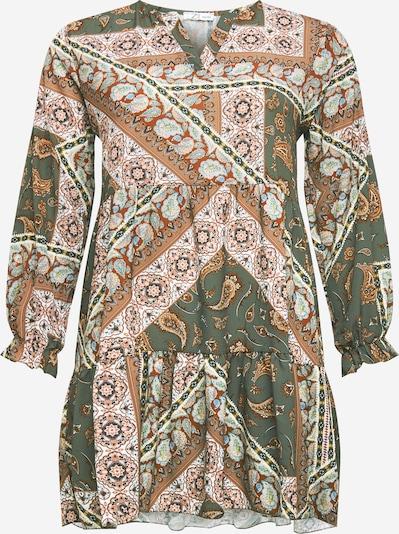 Z-One Košilové šaty 'Esli' - khaki / mix barev, Produkt