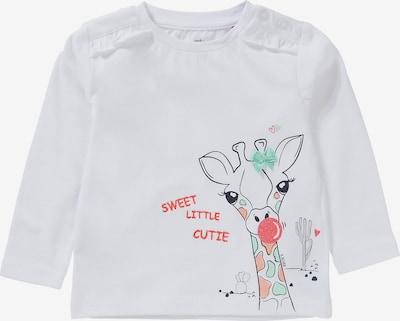 s.Oliver Shirt in de kleur Mintgroen / Koraal / Wit, Productweergave