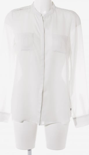Dept. Hemd-Bluse in S in weiß: Frontalansicht