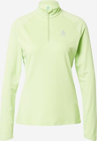ODLO Spordidressipluusid, värv roheline