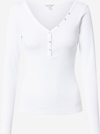GUESS Majica   bela barva, Prikaz izdelka