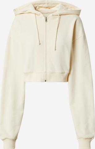 Giacca di felpa 'Inaya' di ABOUT YOU x Sharlota in beige