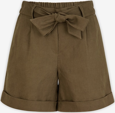 COMMA Pleat-Front Pants in Khaki, Item view