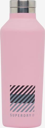 Superdry Drinkfles in de kleur Smoky blue / Pastelroze / Zwart, Productweergave