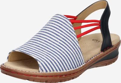 Sandale 'HAWAII' ARA pe bleumarin, Vizualizare produs