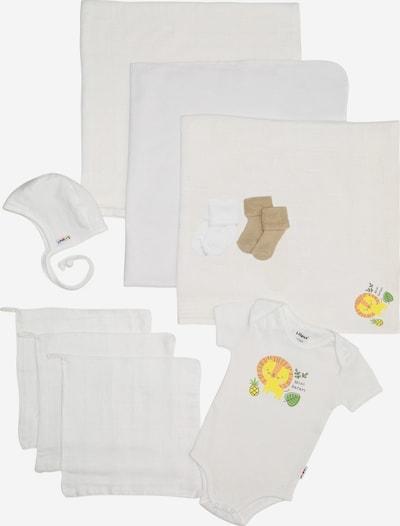 """LILIPUT Erstausstattungspaket 10tlg. weiß """"Mini Safari"""" in weiß, Produktansicht"""