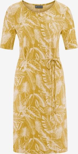 HempAge Kleid ' Dress Jungle Print ' in gelb, Produktansicht