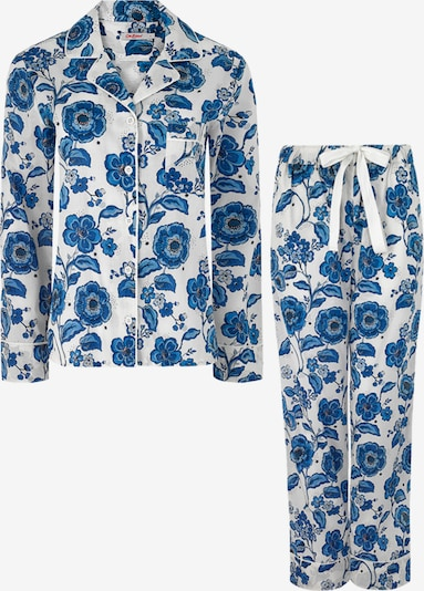 Cath Kidston Pyjama in de kleur Crème / Blauw / Grijs / Pink / Wit, Productweergave