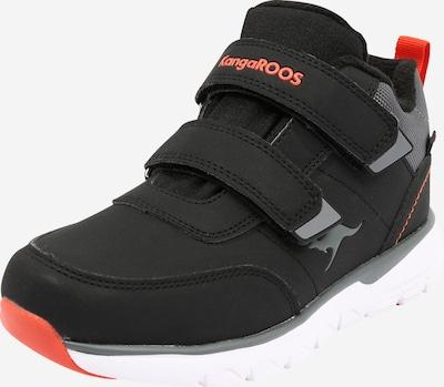 KangaROOS Polobotky 'Bran' - šedá / červená / černá, Produkt