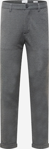 Lindbergh Pants 'Gingham' in Grey