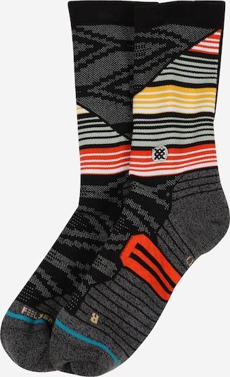 Stance Sportsocken  'LAZARO' in gelb / rot / schwarz / weiß, Produktansicht
