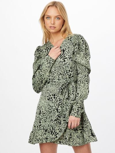 Rochie Missguided pe verde deschis / negru, Vizualizare model