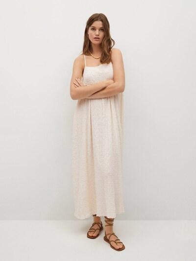 MANGO Kleid 'DALMA' in puder, Modelansicht