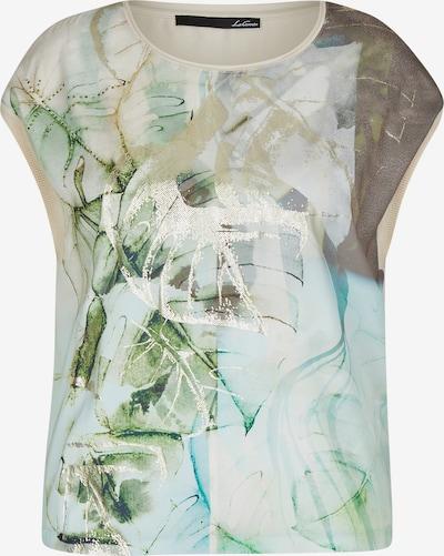Lecomte Shirt in beige / blau / braun / gold / grün, Produktansicht