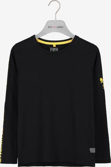 Key Largo Langarmshirt in schwarz, Produktansicht