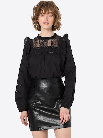 Q/S by s.Oliver Bluse in Schwarz