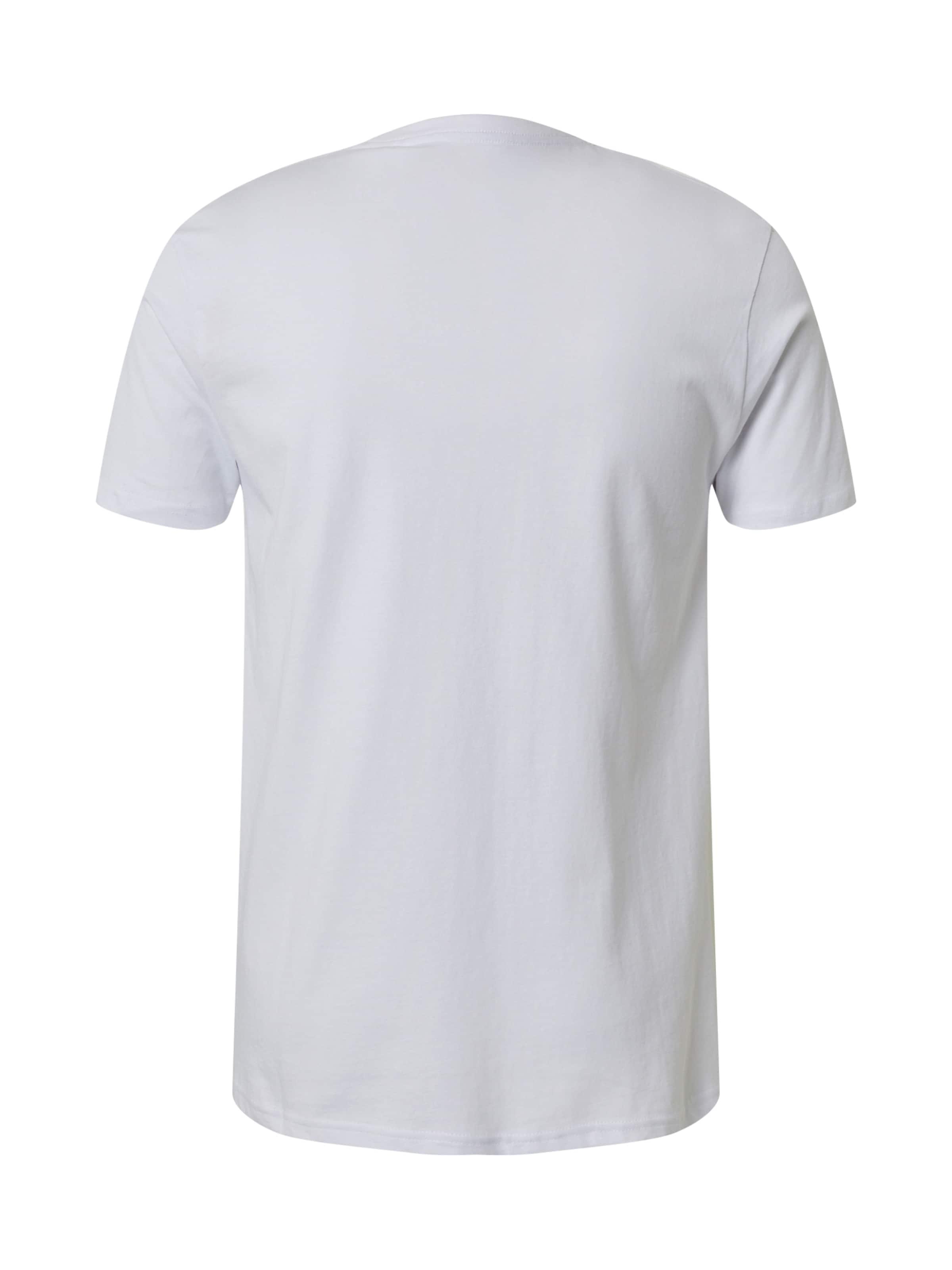 SHINE ORIGINAL Shirt in rot / weiß Jersey SHO0100002000001