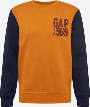 GAP Dressipluus 'V-EXCL CB LOGO CREW', värv oranž